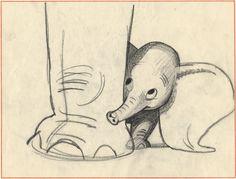 visual development character design storyboards disney dumbo art ...