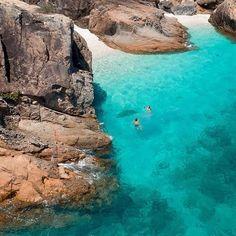 Another hidden gem! #sailingwhitsundays #lovewhitsundays #visitwhitsundays #whitehaven Sailing Whitsundays, The Whitsundays, Sunday Island, Hamilton Island, Airlie Beach, Visit Australia, Beach Aesthetic, Great Barrier Reef, Tropical Paradise