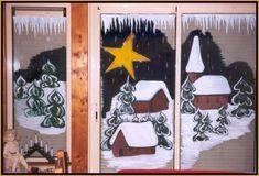 Christmas Wood Crafts, Christmas Decorations, Unicorn Crafts, Kids Learning Activities, Window Art, Christmas Paintings, Window Design, Jingle Bells, Advent