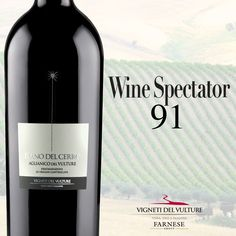 #winespectator #awardedwine #aglianico #aglianicodelvulture #bestwine #basilicata #basilicatawine #vinobasilicata #vinolucano #wineexcellence #redwine #vinorosso