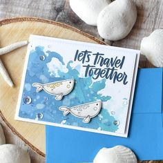 Simon Says Stamp Under The Sea Animals | Summer Cards - Part 3 | Craft For Joy Designs