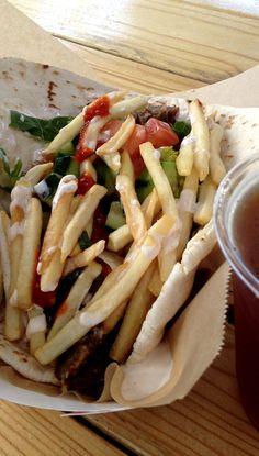 Kebab from San Francisco Food Truck