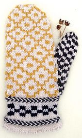 Ravelry: Aztec Flower Mittens pattern by Fact Woman  These turned out so cute!!