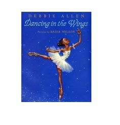 Dancing in the Wings: My favorite book to read to first graders was Dancing in the Wings by Debbie Allen. Its about a tall, gangly girl named Sassy, who lives up to her name. She struggles to find where she fits in, and realizes that to fit in, she just needs to be herself. — My Flipped Classroom