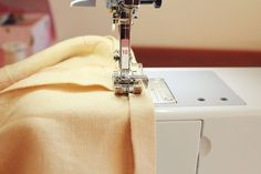 Tutorial: Hemming a curved edge by machine | Colette Blog - useful tips for turning a hem 1/4 inch under