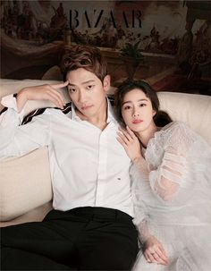 Newlyweds Kim Tae Hee and Jung Jihoon Korean Couple Photoshoot, Pre Wedding Photoshoot, Couple Shoot, Asian Actors, Korean Actresses, Korean Actors, Korean Celebrities, Celebs, Bi Rain