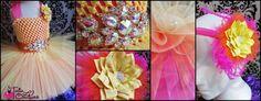 Orange Tutu Dress/Yellow Tutu Dress/Pink Tutu by LoveTutuCouture