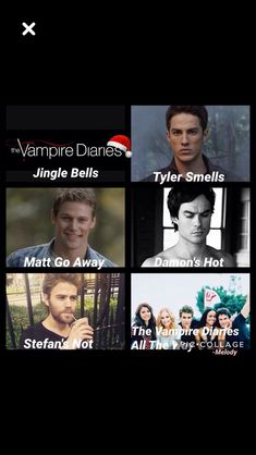 Tyler doesnt actually smell, its funny though😂😂 Vampire Diaries Stefan, Vampire Diaries Poster, Vampire Diaries Quotes, Vampire Diaries Cast, Vampire Diaries The Originals, Damon Salvatore, Caroline Forbes, Vampire Daries, Funny Quotes