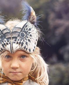Owl Headdress by Sara Lowes