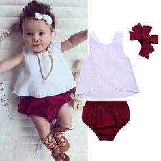 Young Starlet Vest T-shirt Set