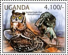 postage stamps | Amazing Postage Stamps of Owl Bird postage stamp of owl uganda country ..