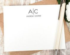 personalized business note card - Google Search