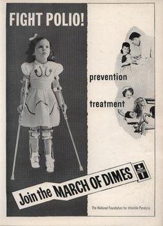 Poliomieilite. Uma realidade no meu tempo de menina