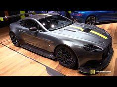 2017 Aston Martin Vantage AMR Pro - Exterior and Interior Walkaround - 2017 Geneva Motor Show - YouTube