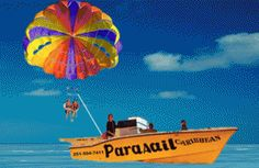 Parasail Orange Beach Alabama with Blue Reef Watersports...saw several today!