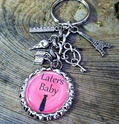 fifty shades of grey laters baby keychain by GirlieGurlzGifts, $17.50