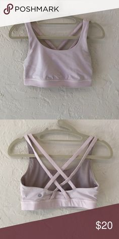 347078b86c226 Baby Pink Lululemon Sports Bra In very good condition Will ship within 1-2  business days lululemon athletica Intimates   Sleepwear Bras
