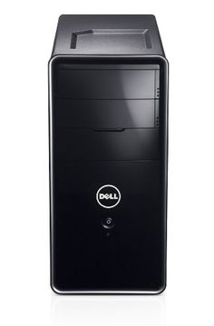 Dell Inspiron 620 Desktop PC - Black (Intel  Core i3 2100 3.1GHz, 3GB RAM, 500GB HDD, DVDRW, LAN, WLAN, Windows 7 Home Premium 64-Bit)