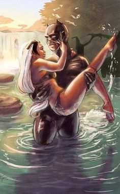 🐆🌪Storm and Black Panther Appreciation - Eternal Love - Page 28 Marvel Comic Character, Comic Book Characters, Comic Books Art, Comic Art, Character Art, Black Panther Storm, Black Panther Art, Black Panther Marvel, Dc Super Heros Girl