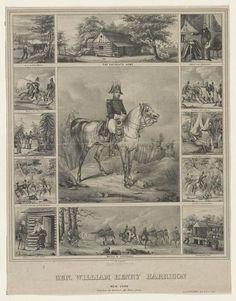 William Henry Harrison 1840. - #history #politics