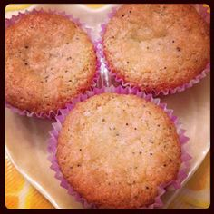 #Vegan Lemon Poppyseed Corn Muffins #recipe via @vegarissa