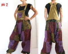 Olive Aladin Harem Overall Latzhosen Overalls von manaKAmana