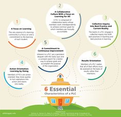 This chart shows what a good Professional Learning Community does and would be good for my teachers to reflect on what areas their PLC can improve in.