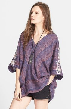 Free People Print Slouchy Top available at #Nordstrom