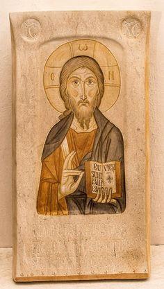 Whispers of an Immortalist: Jesus Christ 14 Jesus Painting, Christ Pantocrator, Spiritual Art, Byzantine Art, Church Art, Catholic Art, Christian Art, Art Icon, Sacred Art