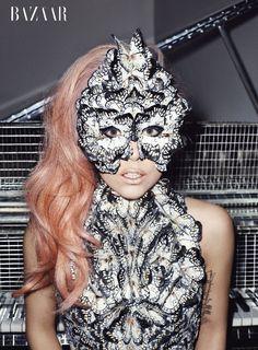 Lady Gaga: Harpers Bazaar cover girl