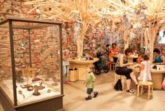 the Children's Art Centre presents leading Australian artist Fiona Hall's interactive art work 'Fly Away Home'. Visitors are invited to enter the nest-inspired environment to create a new species of bird with paper banknotes and build a home in the form of a nest.