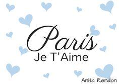 ♔ Paris en Blue