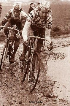 Sean Kelly and Jacques Hanegraaf, 1984