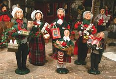 Byers Carolers - one of my favorite holiday traditions! I love my collection!!