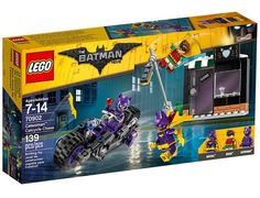 The Lego DC Super Heroes Catwoman Catcycle Chase set from Lego - a great selection of Lego construction sets at Wonderland Models.