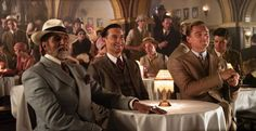Amitabh Bachchan, Tobey Maguire & Leonardo DiCaprio in The Great Gatsby