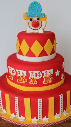 30 Circus Birthday Party Cake Ideas Includes Party cakes and Animalss