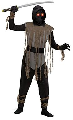 d9298ff7693 Fade In Out Kids Ninja Costume Black Large 1214 Demon Costume