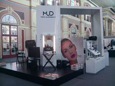 mud london trade show booth
