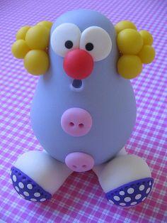little clown potato head