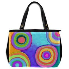 This Is One Funky Handbag Painting Leather Fabric Pinterest Craft Painted
