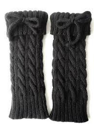 Resultado de imagem para polainas de trico