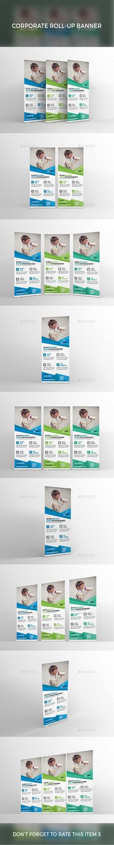 Travel Agency Roll-Up Banner | Download, Template and Ais