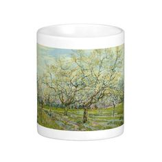 White Orchard by Vincent Van Gogh Coffee Mug