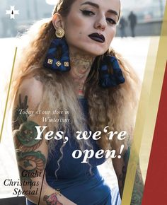 Our shop in Winterthur is open today Tattoo Und Piercing, Winterthur, Must Haves, Hair Styles, Shopping, Beauty, Lucerne, Hair Plait Styles, Hairdos