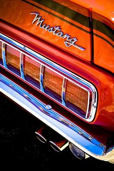 Ford Mustang    #car #old #awesome