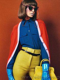 Suvi Koponen in Vogue Color Up! by Sebastian Kim