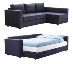 MANSTAD Sectional Sofa Bed & Storage from IKEA — Sofa Sleeper of the Week | Apartment Therapy