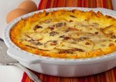 Costco dried Hashbrown Potato Quiche Lorraine