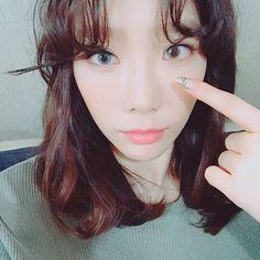 Kid Leader Taeyeon (꼬꼬마 리더 태연) of Girls' Generation (소녀시대).